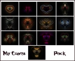 MyCuore Flames Pack by Xenodreaming