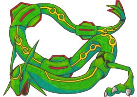 Rayquaza by JellyRaven