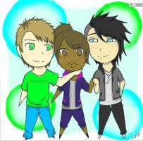 me adam and toby by WarOfArts