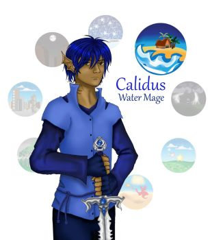 Calidus - Water Mage by Dawnchaser