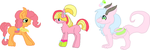 ApplePie JustDance and Serela by MephilesfanforSRB2
