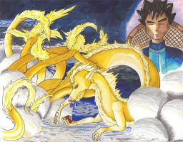038: Ninetales 2 by Prophecy-Inc