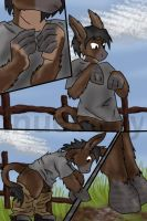 trip to the petting zoo 4 by InuebonyDarkHaven