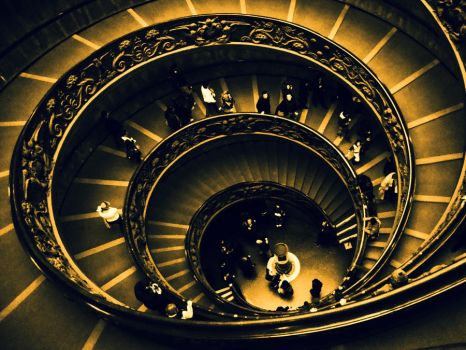 Spiral Staircase by eloyimpressions