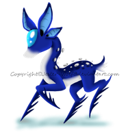 Pebbled Deer by Jester-Wolf