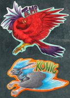 Birdie Badges by blazegryph