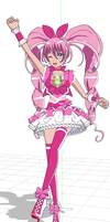 Cure Melody MMD by chatterHEAD