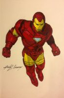 Iron-Man colored! by gokujr96