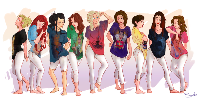 Ladies Only by samanthadoodles