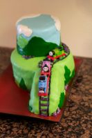 Thomas Cake by Foxy4fs18