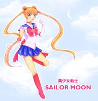Bishoujo Senshi Sailor Moon. by Amai-Kawaii