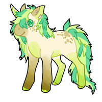 Minty Horse ++closed++ by CoffeeBeanFox