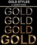 GOLD STYLE PACK by dimplegal