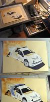 Making of Ford RS200 by Artbyantero