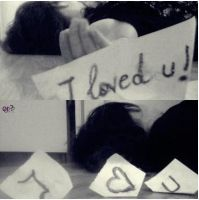 i loved you...or..i love you?? by Methhe