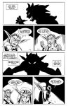Threat - Comic Strip by Chauvels