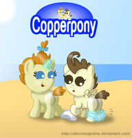 Coppertone Cake Twins by AleximusPrime