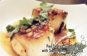 Pan seared Scallops by Nami914