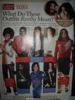what mj's outfits mean by filmcity