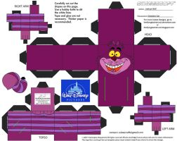 Dis19: Cheshire Cat Cubee by TheFlyingDachshund
