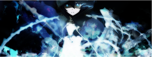 Black Rock Shooter signature by Rk00