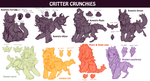 Species wip: Critter Crunchies by Corvikin