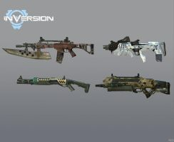INVERSION WEAPONS by Goreface13