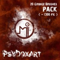 Grunge Brush Pack by PsyDoxArt