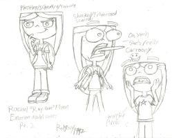 Rachel 'Ray Gun' Flynn Emotion Model Sheet Part 2 by RedJoey1992