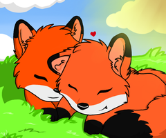 Foxxy Love by mis-matching