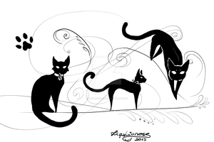 Cats by TigaLioness
