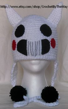 Zacharie Cat Mask hat by DarkwingFrog
