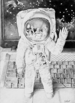 Astronaut by Wheat-C