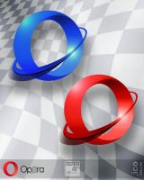 Opera browser mashup icons by Leikoo