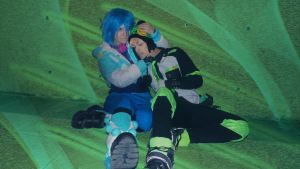 DMMD - I will protect you, boy by Albitxito