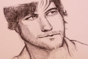 Anthony Green Circa Survive (Speed drawing video) by Corey-H