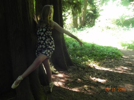 dancing with the trees by CampHogworts777