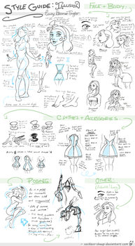 Character Guide - Illusion by Sockless-Sheep