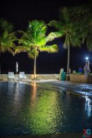 Evening by the pool by sacso