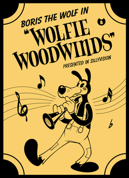 Boris the Wolf in 'Wolfie Woodwinds' (contest) by tymime