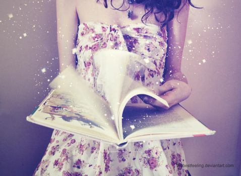 Magic book by thebestfeeling