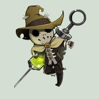 Comish - Scarecrow by oneoftwo