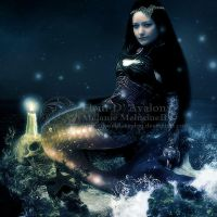 Gothic Mermaid by MelieMelusine