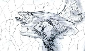Straight from the Sketchbook: Abusing Deinonychus by RajaHarimau98