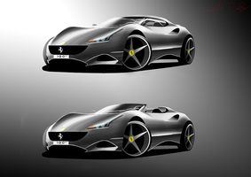 Ferrari 300th by dyrborgdesign