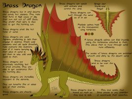Brass Dragon Reference Sheet by chaosinvert