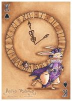 White Rabbit : King of Spades by maina
