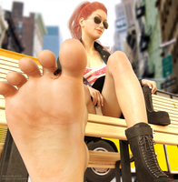 A mile in her shoes by JetSlasher