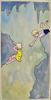 Cave Painting: Chasm by frigga