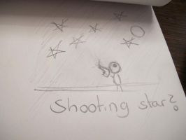 Shooting Star ? by LiljeHiyoubi